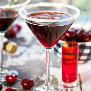 Very Cherry Martini