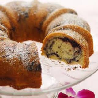 Dark Cherry Bundt Cake.