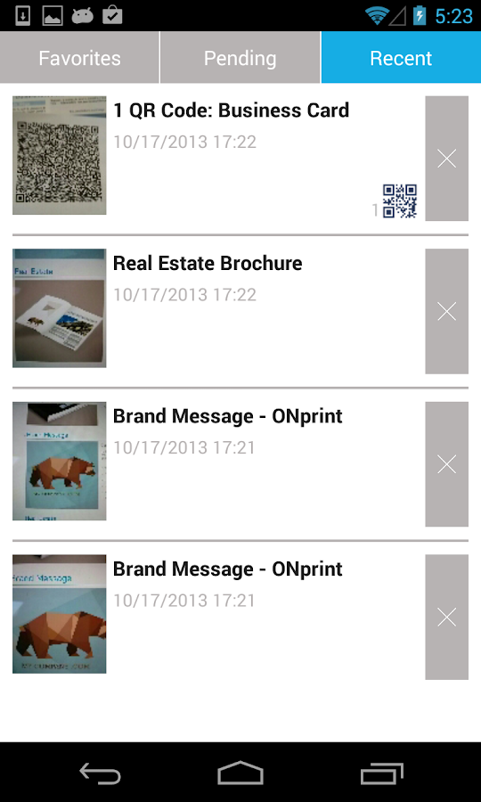 Onprint- screenshot
