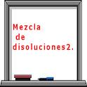 Mezcla de disoluciones II
