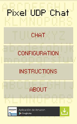 Pixel UDP Chat