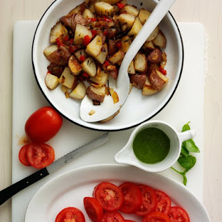 Oven-Roasted Home Fries.