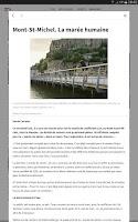 Screenshot of Le Télégramme - Journal