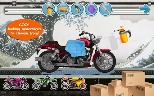Mortorcycle Bike Game for kids