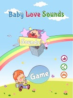 Screenshot of Baby Love Sounds