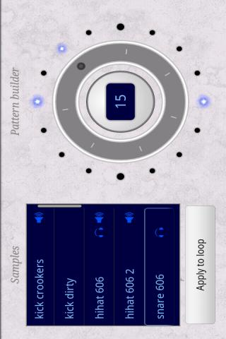 Beat Dialer sequencer - screenshot