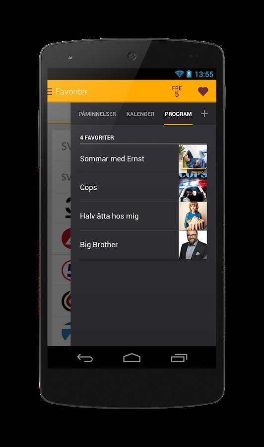 tv.nu - screenshot