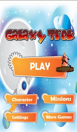 Galaxy Trek - running game