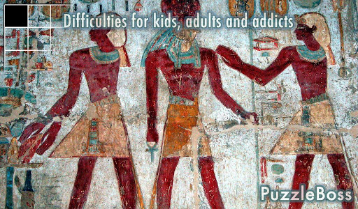 Egypt Slide Puzzle Game