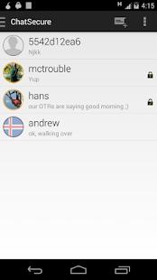 ChatSecure - screenshot thumbnail