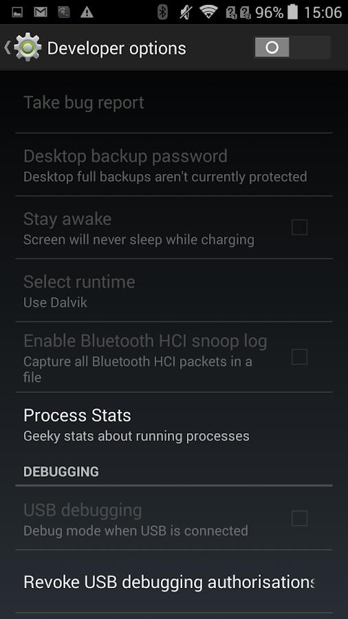 USB Debugging Helper - screenshot
