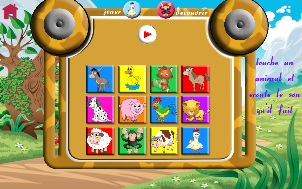 Ponies and games for babies- screenshot