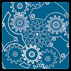 Clock Blueprint Live Wallpaper icon