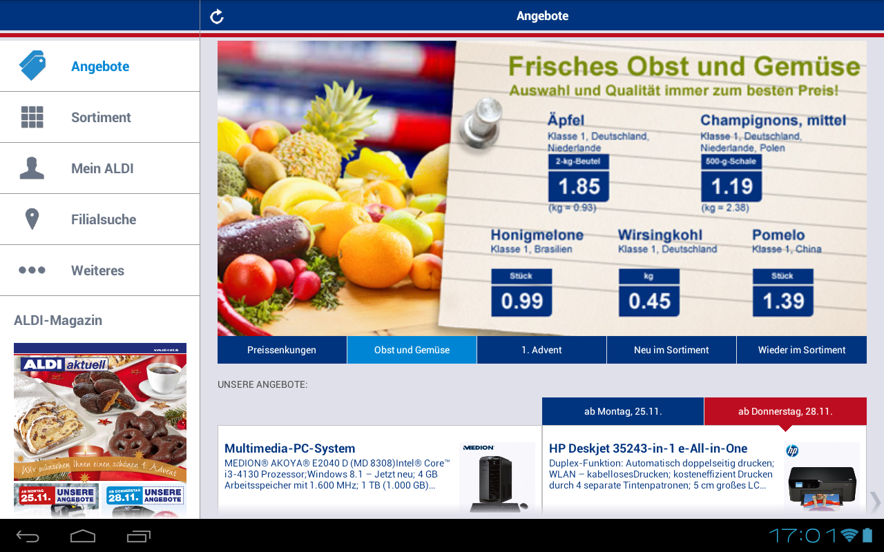 ALDI Nord - screenshot