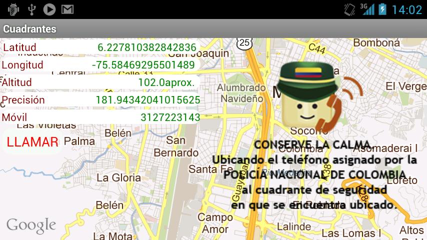 Cuadrantes - screenshot