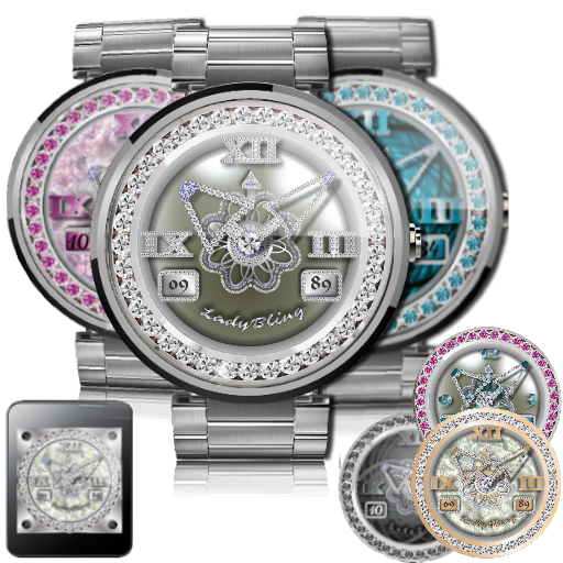 Watch Face LadyBling 840 Combo