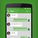 EvolveSMS Theme Green Hang icon