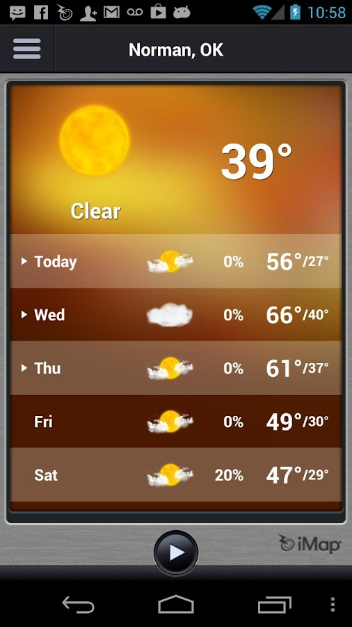 Touchstone Energy Weather Con. - screenshot