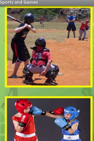 Kids Sports Names- screenshot