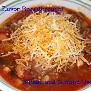 3 Bean and Beef Chili