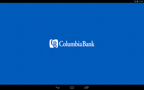 Columbia Bank Mobile Tablet- screenshot thumbnail