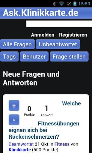 Ask.Klinikkarte.de