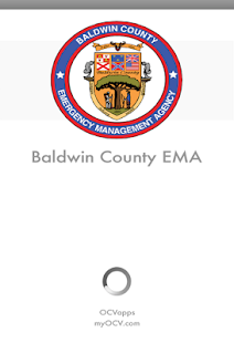Baldwin County EMA App- screenshot thumbnail