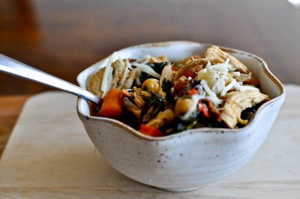 Chickpea Chicken Soup Recipe