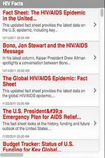 About HIV - screenshot thumbnail