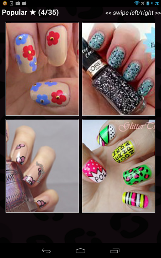 Nail designs android apps on google play nail designs screenshot prinsesfo Images