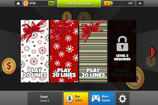 圣诞假期角子机游戏