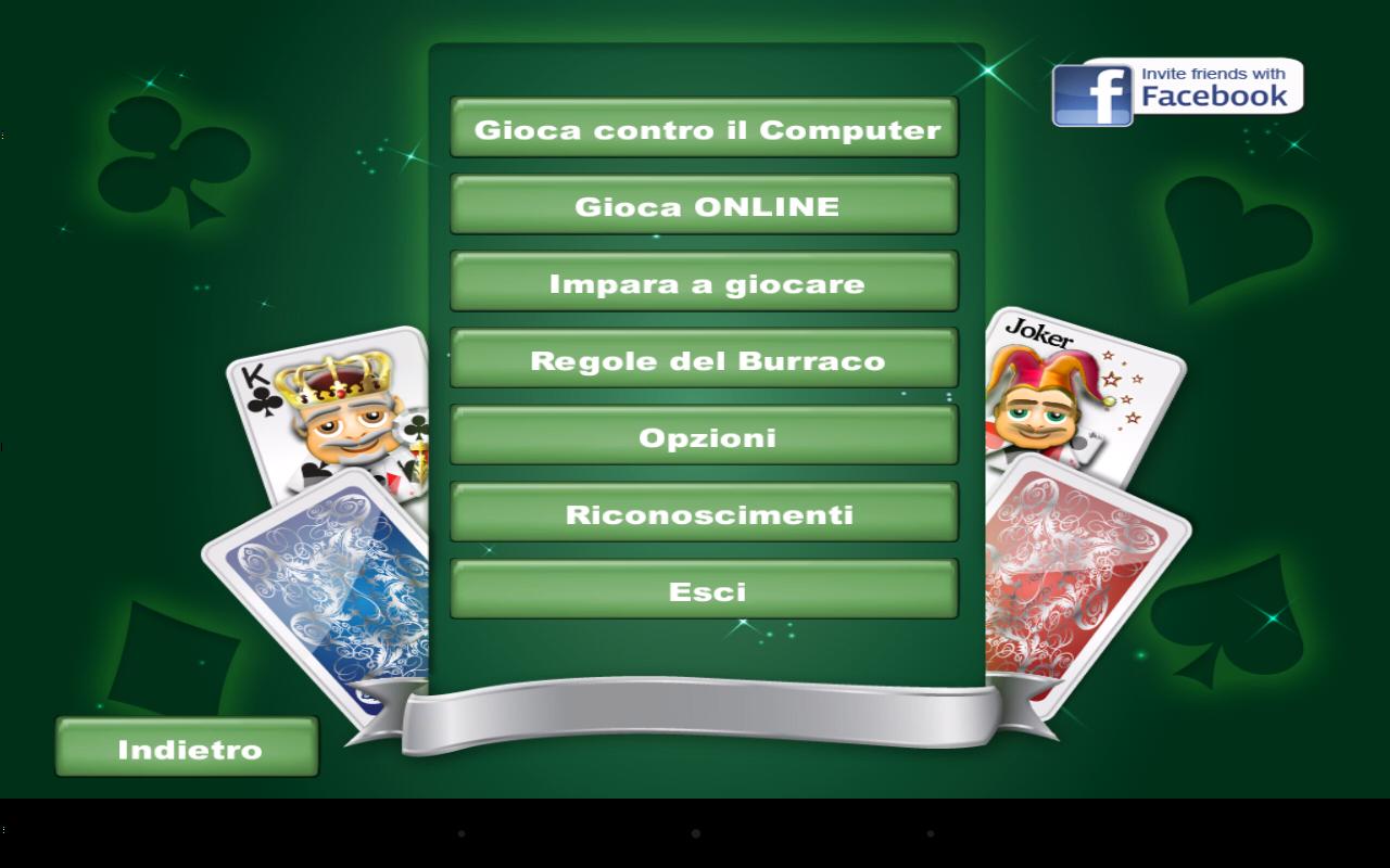 Burraco e Pinelle Online- screenshot
