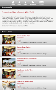 Centara Hotels & Resorts screenshot 12
