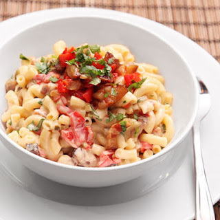 Bacon and Pimento Macaroni and Cheese