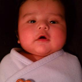 Pretzel Heart by Dawnadine Yazzie-Harvey - Babies & Children Babies ( love, heart, blankie, adorable, baby, cute )