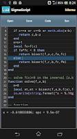 Screenshot of SigmaScript