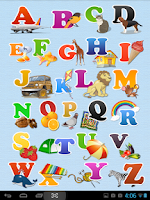 Screenshot of My First ABC Alphabets