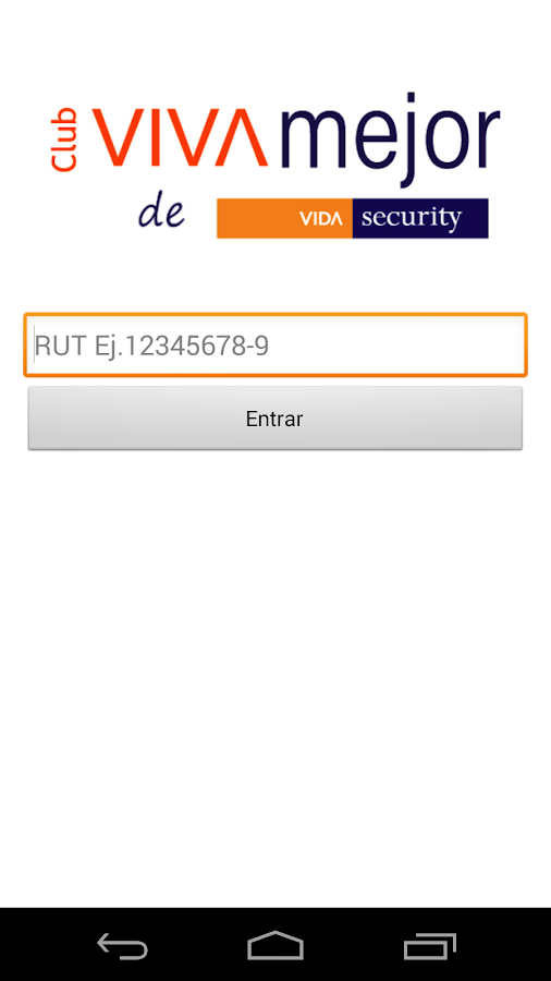 Club Viva Mejor Vida Security - screenshot