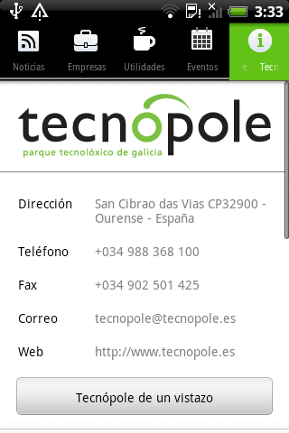 Tecnópole - screenshot