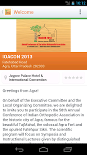 IOACON 2013- screenshot thumbnail