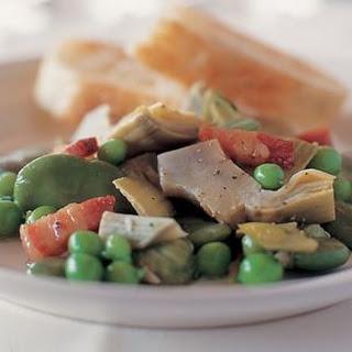 Stewed Spring Vegetables (La Vignarola)