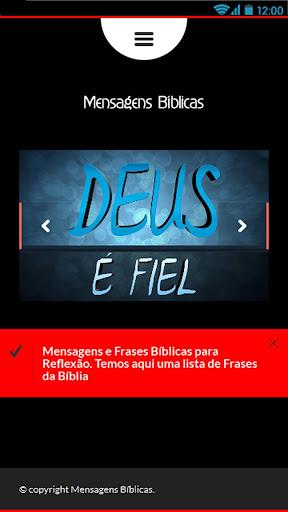 Mensagens Bíblicas para Você