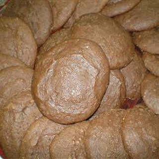 Applesauce Cocoa Cookies.