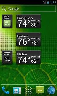 Wi-Fi Enabled Radio Thermostat- screenshot thumbnail