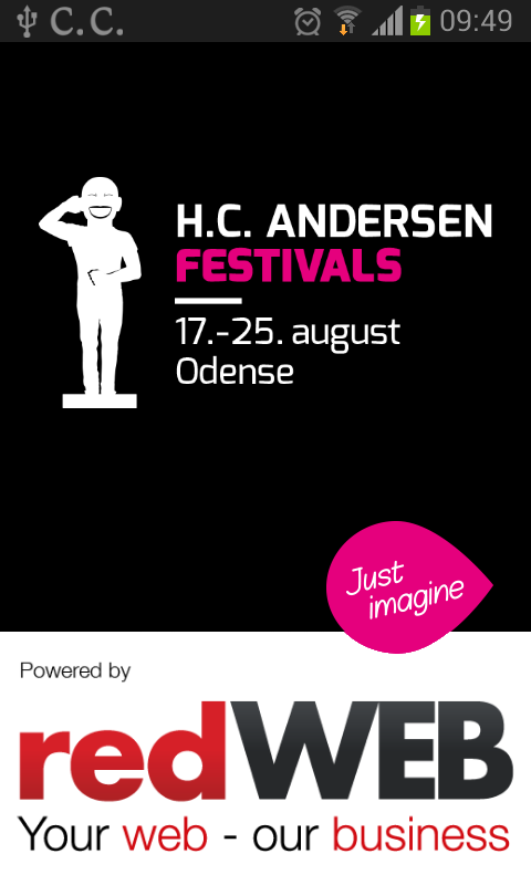 H.C. Andersen Festivals 2015 - screenshot