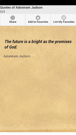 Quotes of Adoniram Judson