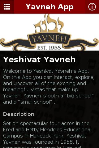 Yavneh App