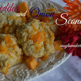 Cheddar and Onion Scones