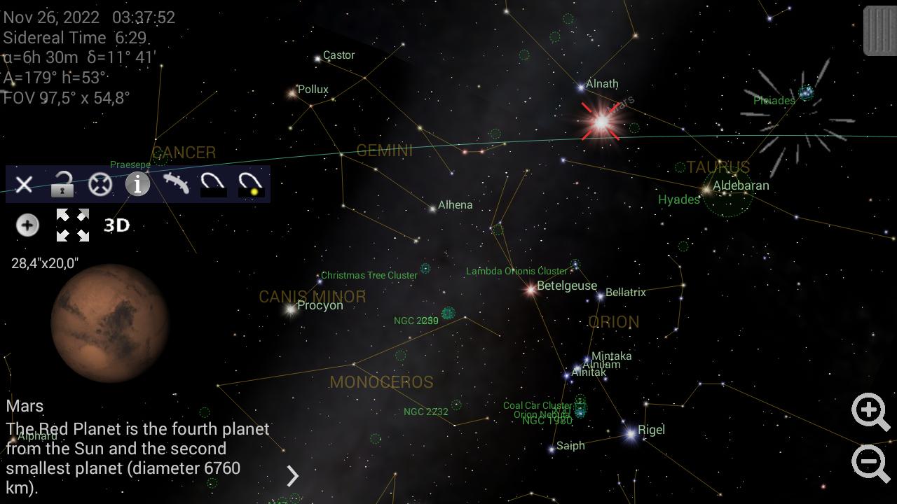Mobile Observatory - screenshot