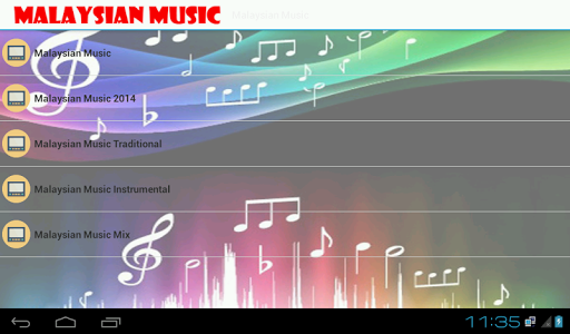 Malaysian Music